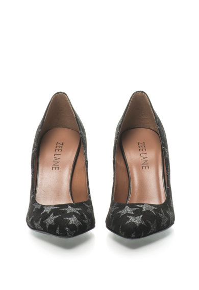 Zee Lane Pantofi de piele intoarsa cu imprimeu stralucitor Femei
