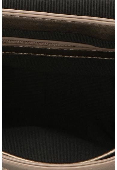 DESIGUAL Geanta crossbody de piele sintetica cu model cusut Femei