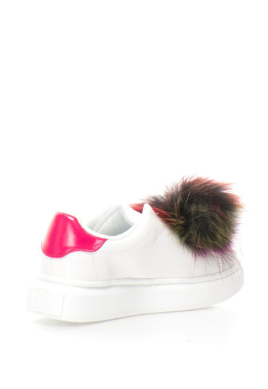 Colors of California Pantofi sport flatform de piele cu blana sintetica Femei