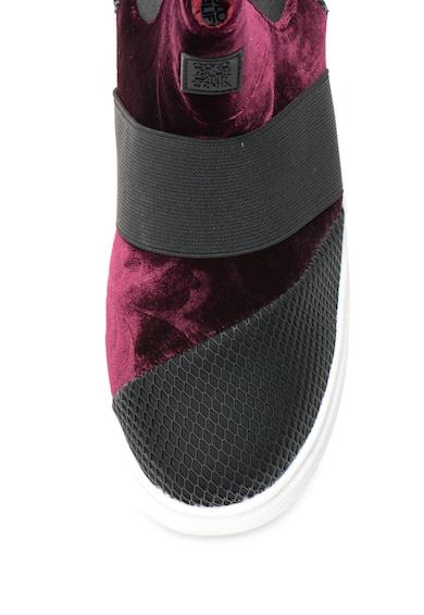 Colors of California Pantofi sport slip-on cu garnituri catifelate Femei