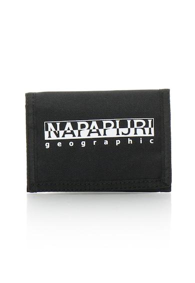 Napapijri Унисекс портмоне с прегъване и велкро Жени