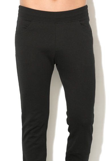 Le Coq Sportif Pantaloni sport slim fit cu banda elastica in talie Barbati