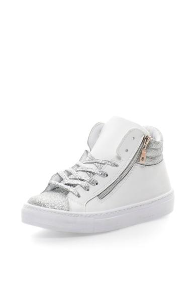 Oakoui Pantofi sport inalti cu particule stralucitoare Femei