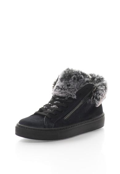Oakoui Pantofi sport inalti de piele intoarsa Femei