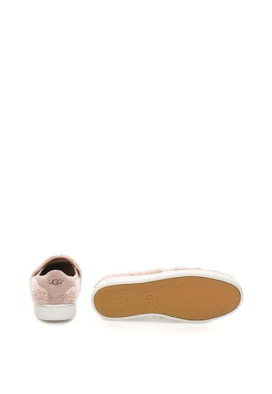 UGG Pantofi slip-on cu insertii de piele intoarsa Ricci Femei