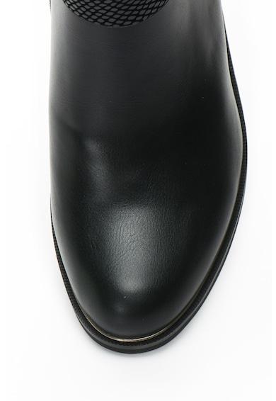 Gian Marco Venturi Cizme scurte de piele sintetica cu barete decorative Femei