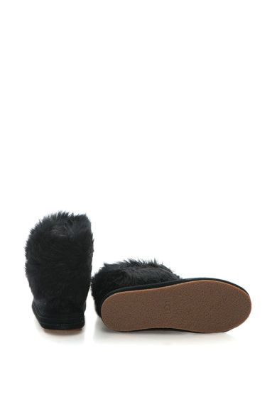 UGG Ghete de piele intoarsa cu garnituri de blana sintetica Femei