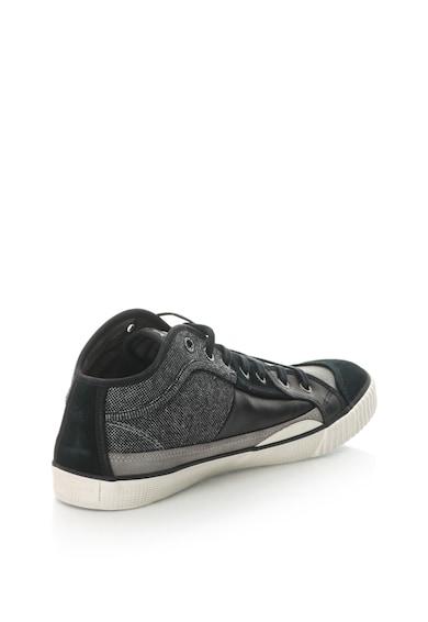 Pepe Jeans London Pantofi sport cu garnitura de piele intoarsa sintetica Industry Barbati