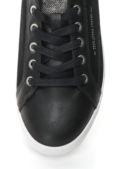Pepe Jeans London Pantofi sport cu segmente de piele intoarsa North Mix Barbati