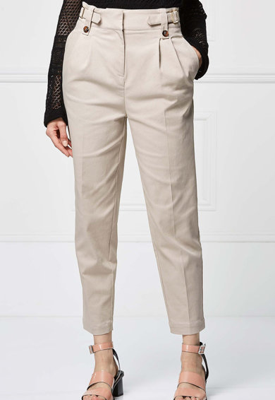 NEXT Pantaloni conici cu design cu benzi Femei