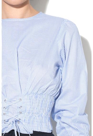 Influence Bluza cu siret si cu aspect de corset Femei