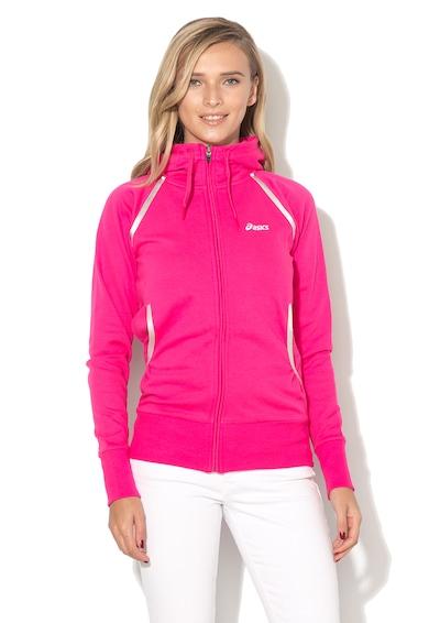 Asics Acisc, Cipzáros fitnesz kapucnis pulóver női