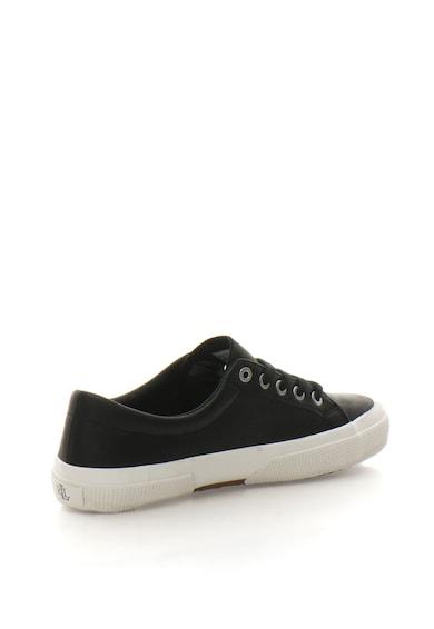 Lauren Ralph Lauren Jolie fűzős bőr sneakers cipő női