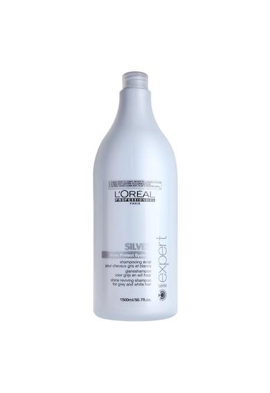 L'Oreal Professionnel Sampon profesional  Serie Expert Silver cu reflexe violet pentru par gri si blond, 1500 ml Femei