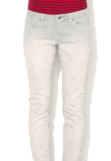 EDC by Esprit Прилепнали дънки с десен на звезди Жени