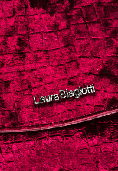 Laura Biagiotti Кадифена чанта през рамо Жени