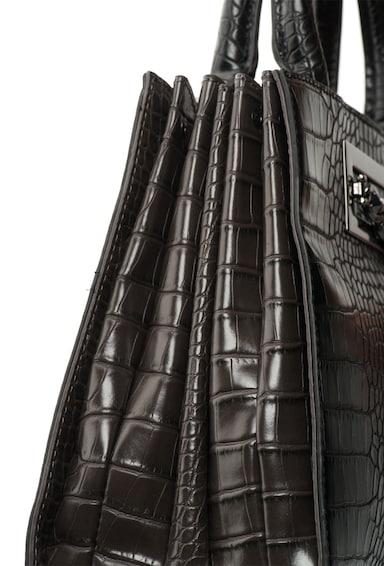 Laura Biagiotti Чанта от изкуствена кожа с екзотичен релеф Жени