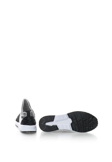Colors of California Pantofi sport slip on de catifea Femei