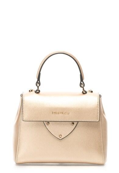 COCCINELLE Кожена чанта с отделяща се презрамка Жени