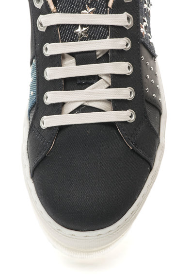 Diesel Pantofi sport flatform cu design patchwork Andyes Femei