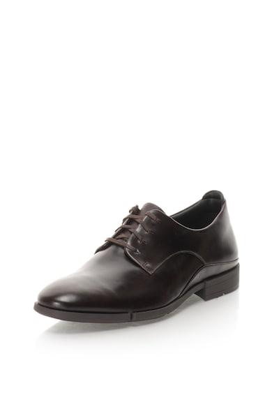 Clarks Pantofi derby de piele Daulton Barbati