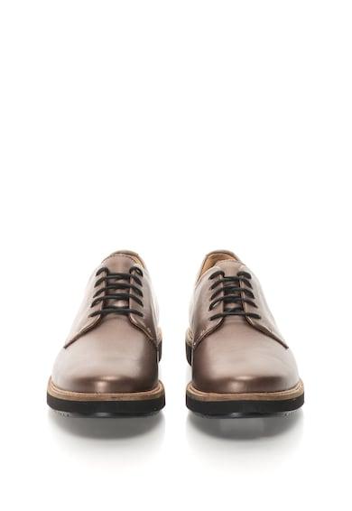 Clarks Pantofi casual de piele Glick-Darby Femei