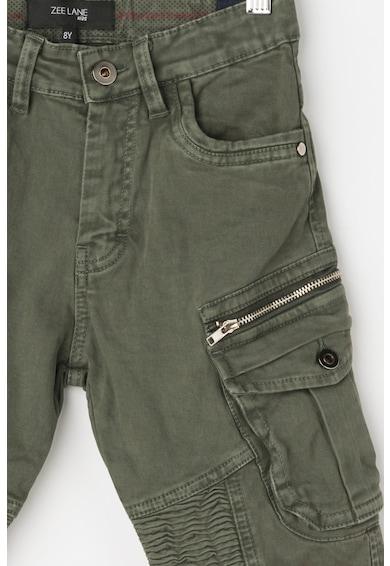 Zee Lane Kids Pantaloni cargo conici cu talie ajustabila Baieti