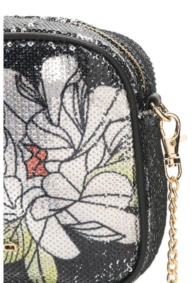 Fornarina Clio Keresztpántos Táska Flitterekkel & Virágmintával női