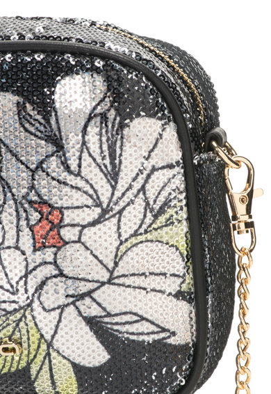 Fornarina Чанта Clio с пайети и флорална шарка Жени