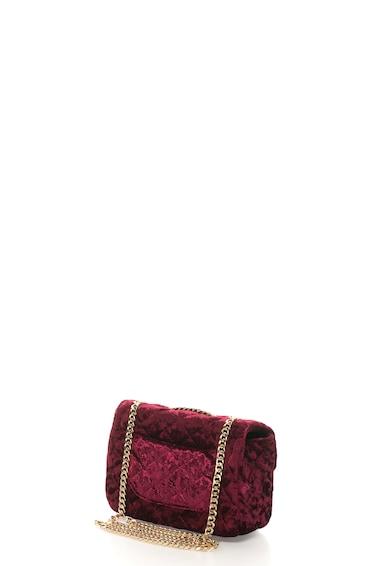 Fornarina Geanta de umar, din catifea, cu design matlasat Dahlia Femei