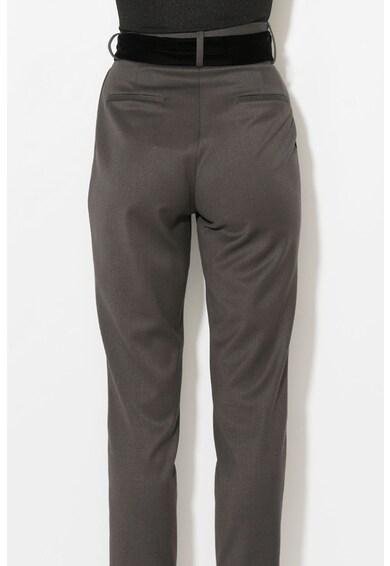 Zee Lane Pantaloni conici cu o curea de catifea Femei