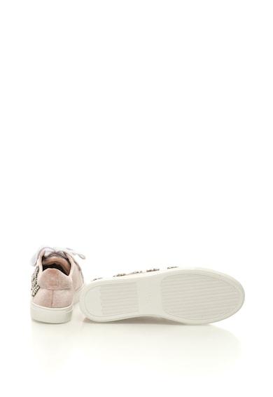 Aldo Pantofi sport catifelati cu aplicatii cu strasuri Thadolle Femei