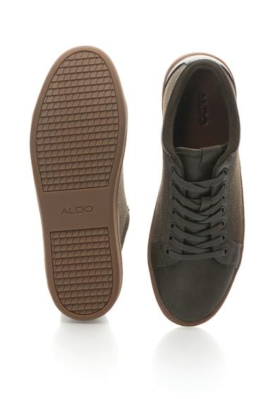 Aldo Pantofi sport cu insertii de piele Sigrun Barbati