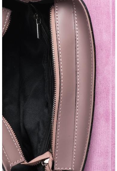 Zee Lane Geanta structurata de piele cu detalii texturate Femei
