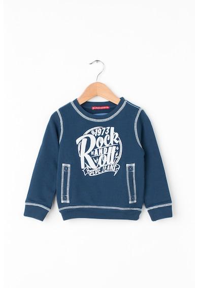 Pepe Jeans London Bluza sport cu imprimeu logo Smith Baieti