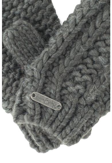Pepe Jeans London Manusi tricotate cu aplicatie logo Ribi Fete