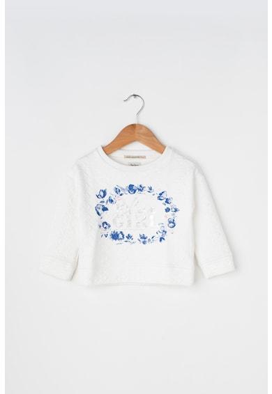 Pepe Jeans London Bluza sport texturata cu imprimeuri diverse Zada Fete