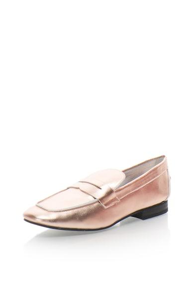 Buffalo Pantofi loafer de piele Femei