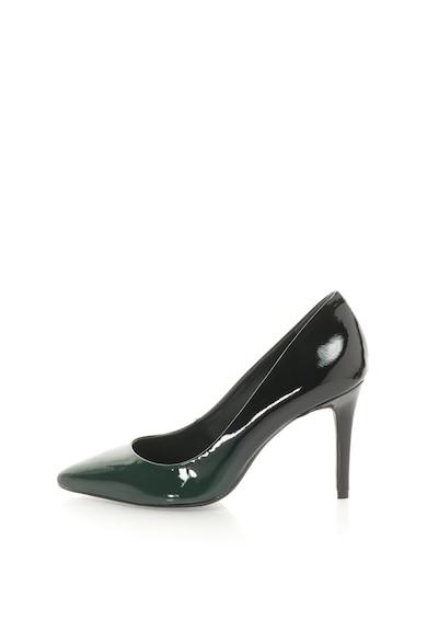 Bronx Pantofi stiletto de piele lacuita, cu aspect in degrade si cu varf ascutit Femei