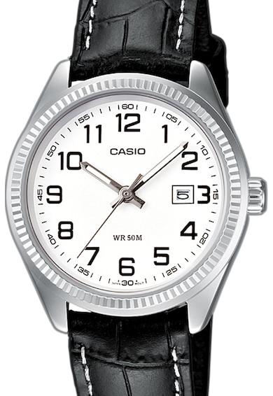 Casio Часовник с кожена каишка Мъже