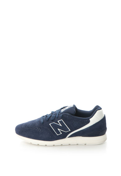 New Balance 996 Nyersbőr Sneakers Cipő Perforált Dizájnnal férfi