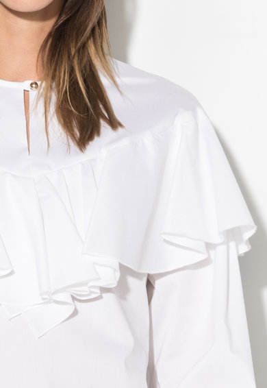 Zee Lane Collection Bluza cu volane Femei