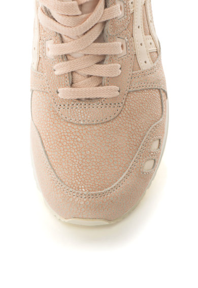 Asics Pantofi sport unisex de piele si piele intoarsa Gel-Lyte III 4 Femei