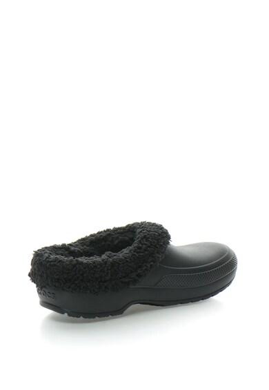 Crocs Papuci unsex de cauciuc cu captuseala teddy Femei