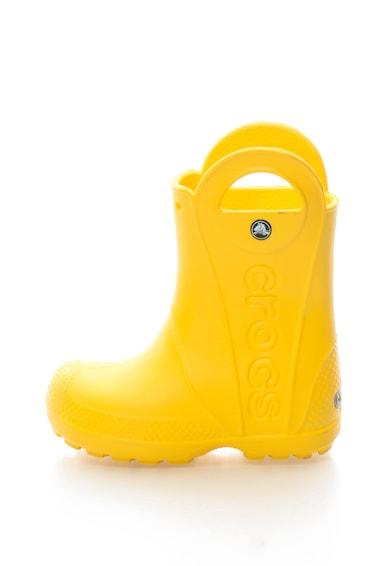 Crocs Cizme de ploaie cu logo Fete