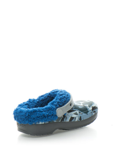 Crocs Гумени чехли с отворена пета и плюшена подплата Момичета