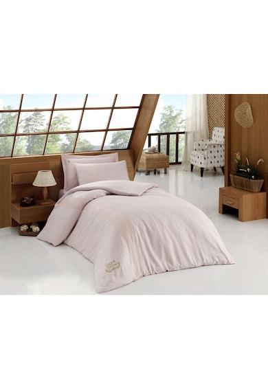 U.S. Polo Assn. Lenjerie de pat pentru o persoana Macon US Polo ASSN, 60% bumbac, roz Femei