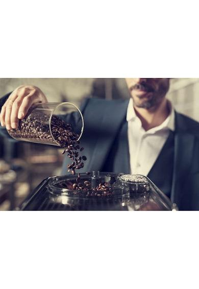 Saeco Espressor automat  Xelsis SM7683/00, Ecran tactil cu Coffee Equalizer, Sistem Latteduo, 15 selectii , 6 profiluri, Rasnita ceramica cu 12 trepte, AquaClean, Negru/Inox Femei