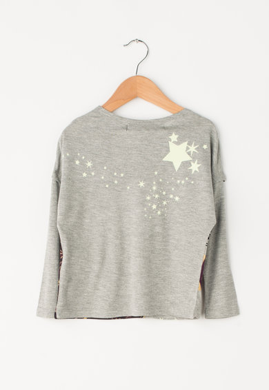 DESIGUAL Bluza cu design abstract Misisipi Fete