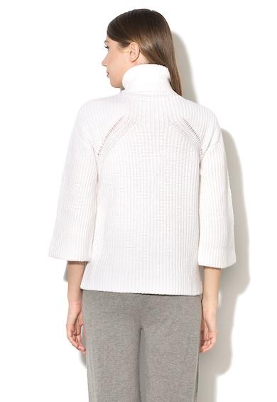Stefanel Pulover din amestec de lana cu guler inaltCL037D-F1305 Femei